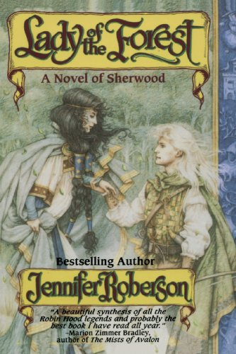 9781575667492: Lady Of The Forest (A Novel of Sherwood)