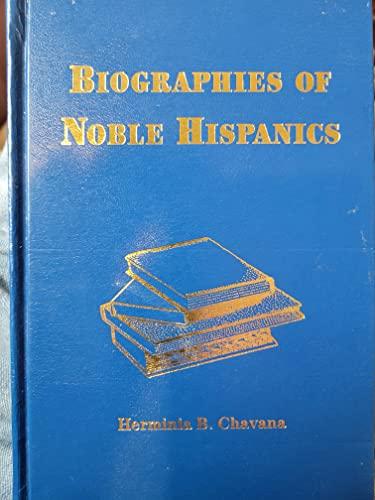 9781575790480: Biographies of noble Hispanics