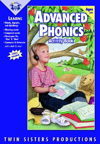 Advanced Phonics Music CD/Book Set: Twin Sisters Production