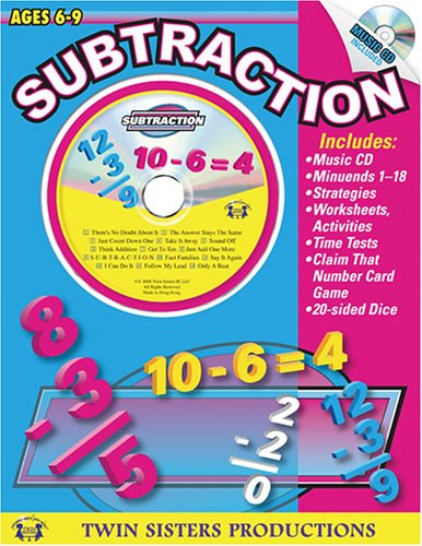 9781575838939: Subtraction, Ages 6-9 (Workbook & CD)
