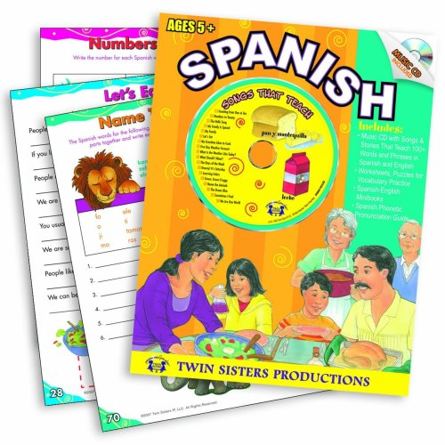 9781575839325: Spanish (Listen and Learn a Language Series, 10)