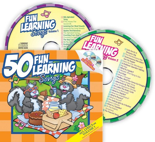 50 Fun Learning Songs [With Booklet] (Growing Minds with Music): Karen Mitzo Hilderbrand