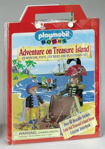 9781575842370: Adventure on Treasure Island : Playmobil Play Stickers Series