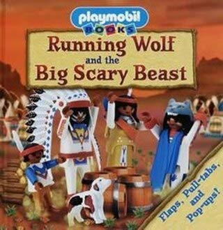 Running Wolf and the Big Scary Beast (1575843021) by Goldsack, Gaby