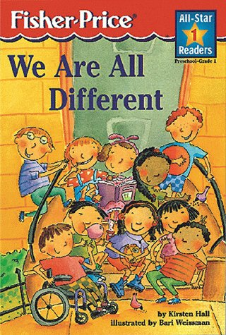 We Are All Different: Level 1 (All-Star Readers): Kirsten Hall
