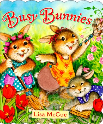 Busy Bunnies (Touch-Me Book): Gerver, Jane