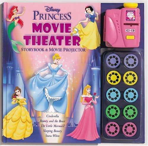 9781575849393: Disney Princess Movie Theater Storybook & Movie Projector