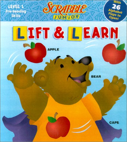 Scrabble Junior Lift 'n Learn from A to Z (157584981X) by Reader's Digest