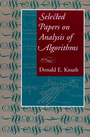 9781575862125: Selected Papers on the Analysis of Algorithms