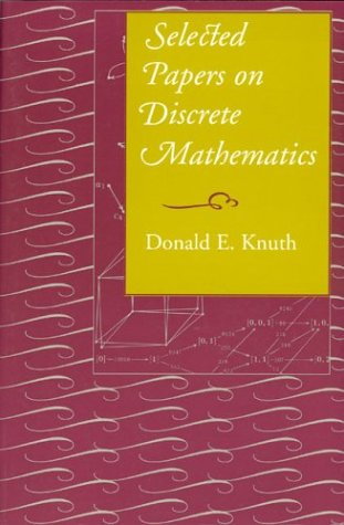 9781575862484: Selected Papers on Discrete Mathematics (Lecture Notes)