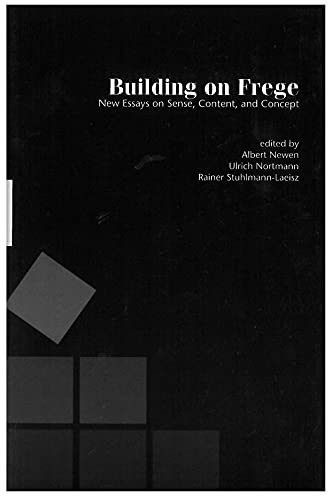 9781575863122: Building on Frege: New Essays about Sense, Content and Concepts