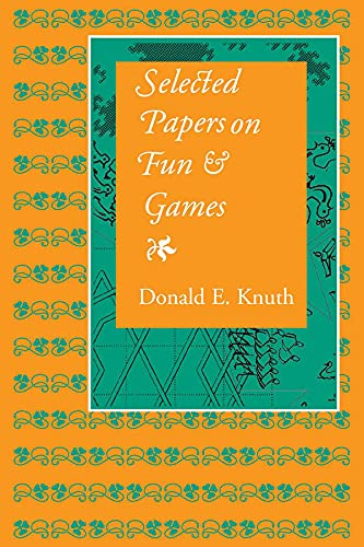 9781575865843: Selected Papers on Fun & Games
