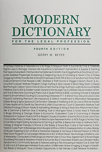 9781575886596: Modern Dictionary for the Legal Profession