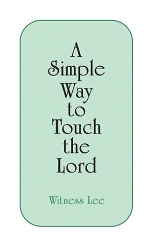 9781575933849: A Simple Way to Touch the Lord