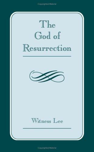9781575939841: God of Resurrection, The