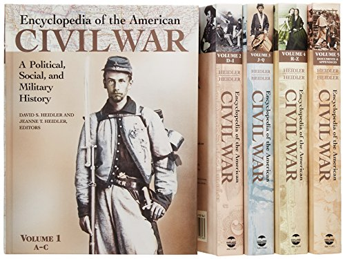 9781576070666: Encyclopedia of the American Civil War [5 volumes]: A Political, Social, and Military History
