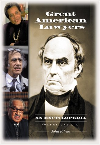 9781576072028: Great American Lawyers: An Encyclopedia (2 Volumes)