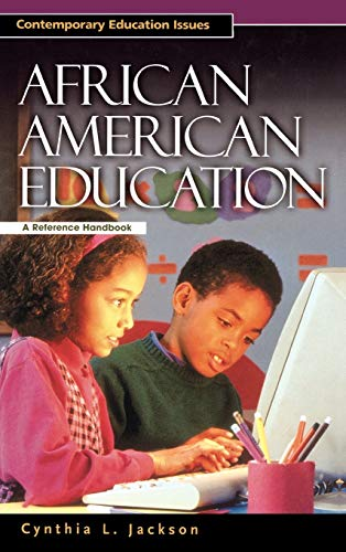 9781576072691: African American Education: A Reference Handbook