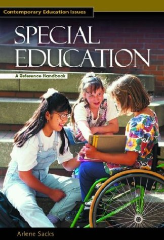 9781576072745: Special Education: A Reference Handbook (Contemporary Education Issues)