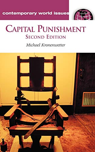 9781576074329: Capital Punishment: A Reference Handbook, 2nd Edition (Contemporary World Issues)