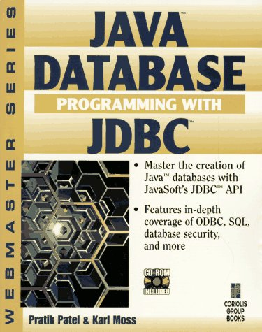 9781576100561: Java Database Programming with JDBC: Discover the Essentials for Developing Databases for Internet and Intranet Applications