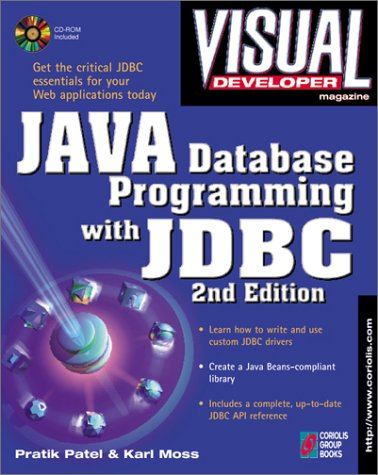 9781576101599: Visual Developer Java Database Programming with JDBC, 2nd Edition: The Essentials for Developing Databases for Internet and Intranet Applications