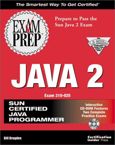 9781576102619: Java 2 Exam Prep (Exam: 310-025)