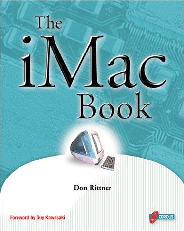 9781576104293: The iMac Book: Get inside the hot new iMac, CNET's