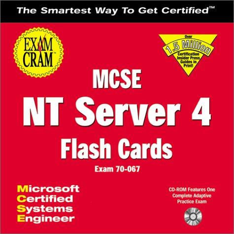 MCSE NT Server 4 Exam Cram Flash: Ed Tittel, etc.