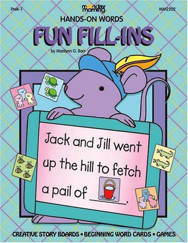 Fun Fill-Ins: Barr, Marilynn G.