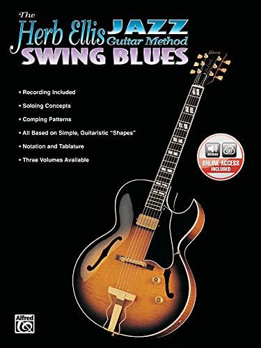 9781576233436: The Herb Ellis Jazz Guitar Method: Swing Blues, Book & CD