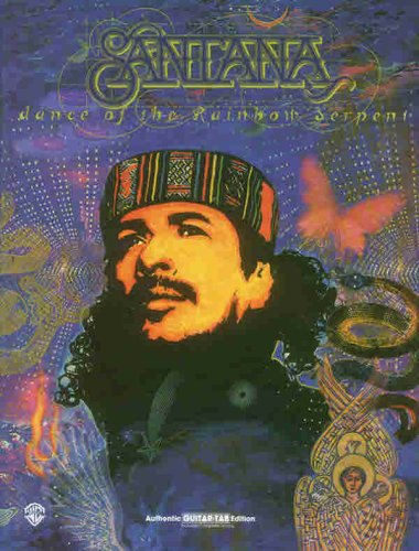 Authentic Guitar TAB (Book (Boxed Set)); Carlos Santana -- Dance of the Rainbow Serpent (Boxed Set)...