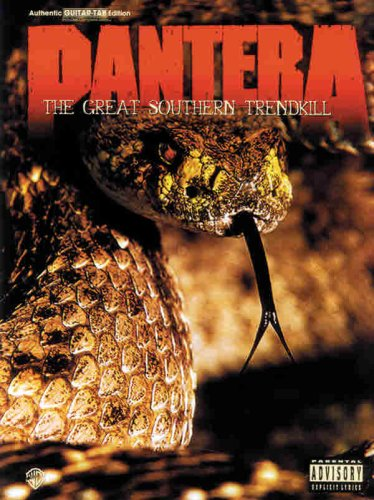 9781576235157: Pantera -- The Great Southern Trendkill: Authentic Guitar TAB