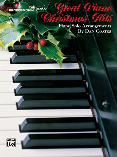 9781576235485: Great Piano Christmas Hits (The Professional Touch Series)