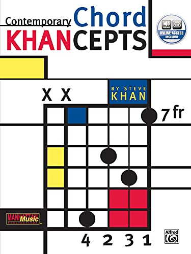 Contemporary Chord Khancepts (Jazz Masters): Khan, Steve