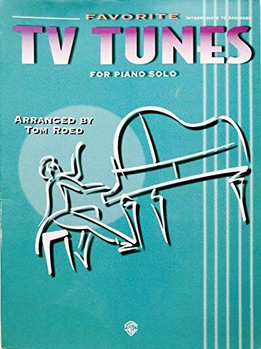 9781576235720: Favorite TV Tunes: For Piano Solo (Favorite Series)