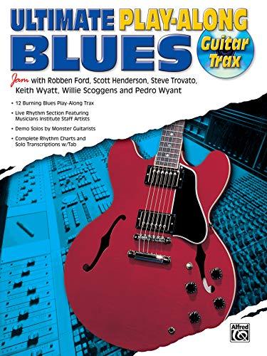 9781576235812: Ultimate Play-Along Guitar Trax Blues: Book & CD