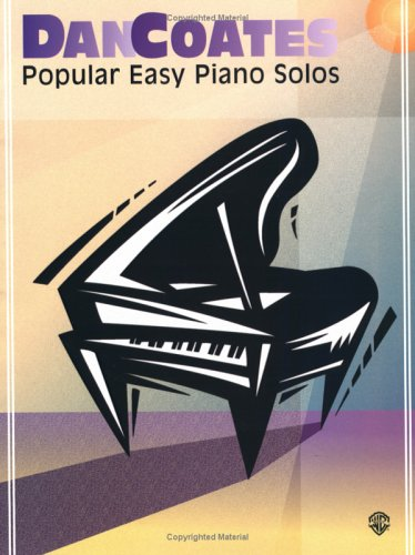 9781576235966: Dan Coates Popular Easy Piano Solos