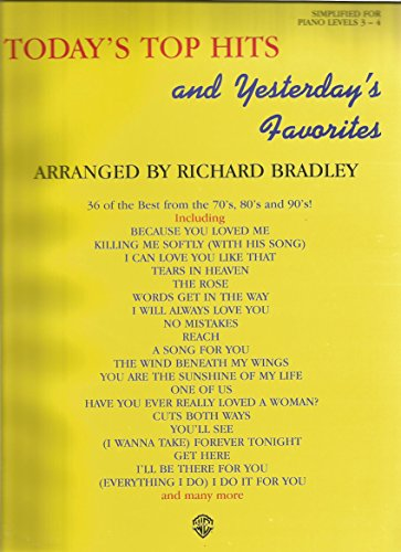 Today's Top Hits and Yesterday's Favorites: Issue No. 1: Bradley, Richard