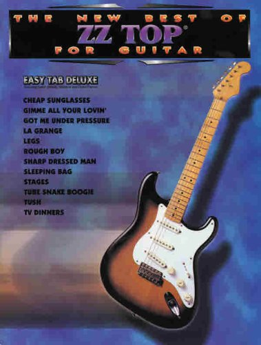 9781576236987: The New Best of ZZ Top for Guitar (Easy Tab Deluxe)