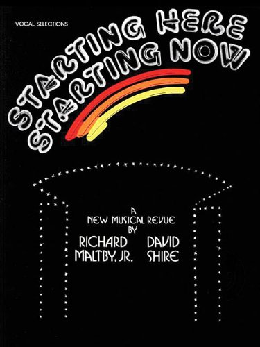 9781576238516: Starting Here, Starting Now: Vocal Selections