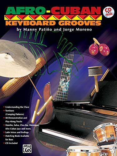 9781576239117: Afro-Cuban Keyboard Grooves: Book & CD (Afro-Cuban Grooves)