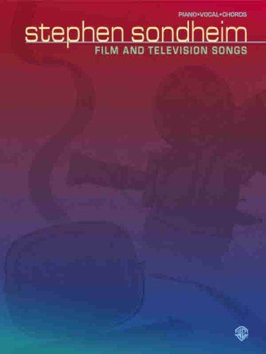 9781576239322: Stephen Sondheim -- Film and Television Songs: Piano/Vocal/Chords