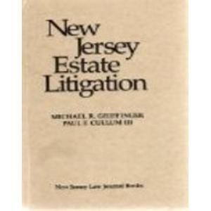 9781576252604: New Jersey Estate Litigation