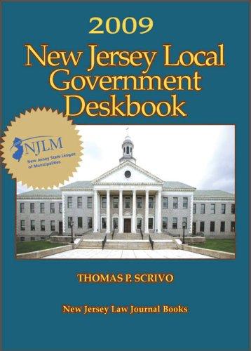 9781576253090: 2009 New Jersey Local Government Deskbook