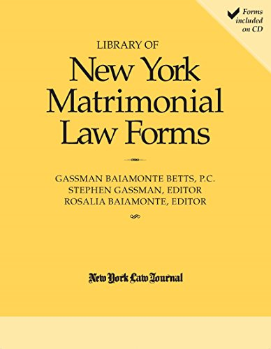 9781576255384: Library of New York Matrimonial Forms
