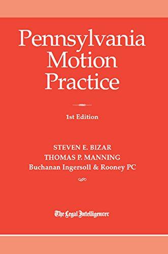 9781576255995: Pennsylvania Motion Practice 2016