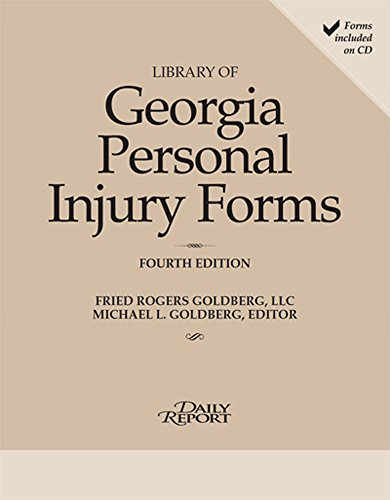 9781576259474: Library of Georgia Personal Injury Law Forms 2015