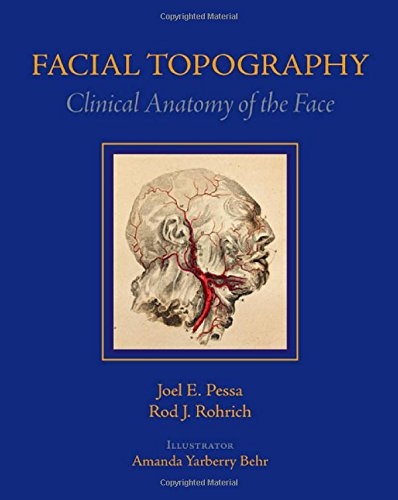 Facial Topography: Clinical Anatomy of the Face: Pessa MD, Joel