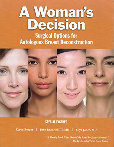 9781576263761: A Woman's Decision: Surgical Options for Autologous Breast Reconstruction